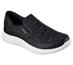 CALZADO SKECHERS DEPTH CHARGE NEGRO/BLANCO N 1 Cod:52395/BKW