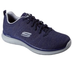 CALZADO SKECHERS AIR COOLED MEMORY FOAM MARINO N22 Cod:52387/NVGY