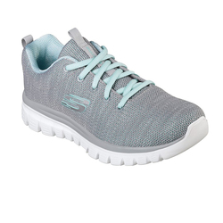 CALZADO SKECHERS TWISTED FORTUNE FEM N 62 Cod:12614/gymn