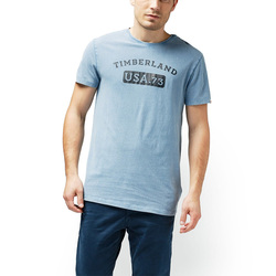 REMERA TIMBERLAD SS VINTAGE GRAPHIC AZUL MASC Cod:A1MJ7A42