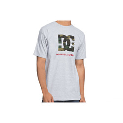 REMERA DC SHOES CAMO FILL SS M TEES GRIS/VERDE Cod:T04541KNFH