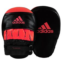 MANOPLA DE ENFOQUE CORTO ADIDAS BLACK RED Cod:adisbac01-blk/red