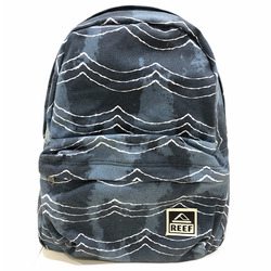 MOCHILA REEF MOVING ON CANVAS AZUL/BLANCO Cod:RF00L265NWS