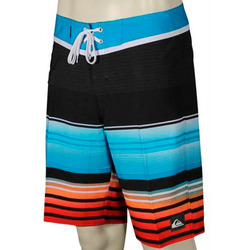 SHORT QUIKSILVER EVERYDAY STRIPE 21 NEGRO/AZUL/R Cod:EQYBS03128-BMJ3