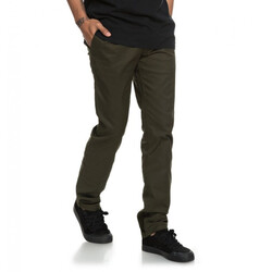 PANTALON DC SHOES WORKER SLIM VERDE MUSGO MASC Cod:P03135KRY0