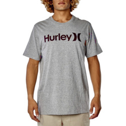 REMERA HURLEY GRIS/ROJO MASC M-C Cod:MTS02183006GE