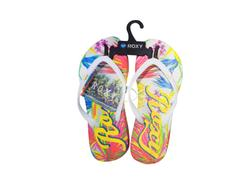 ZAPATILLA ROXY TROPICAL/JUNGLE BLANCA FEM N1 Cod:srlfw355