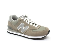 CALZADO NEW BALANCE TRADITIONNELS COLOR GRIS N178 Cod:M574GS