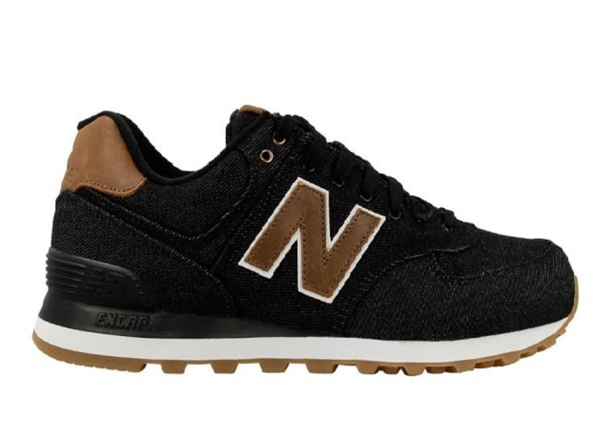 CALZADO NEW BALANCE 574 NEGRO/MARRÓN MASC N290 Cod:ML574TXA - New ...